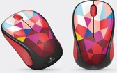 Wireless Mouse M238 - Play Collection (Red Facets)
