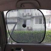 Statische zonwering voor in de auto