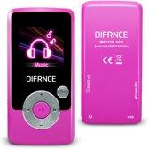 Difrnce MP1570 - MP4 speler - 4GB - Roze