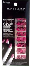 Maybelline Color Show Fashion Prints Nail Stickers - 10 Fierce N Fuchsia