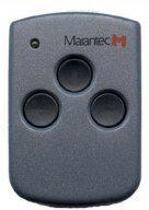 Marantec digital 313 - 4-kanaals Handzender - 868,3Mhz - Geschikt voor Marantec Motoren - Grijs