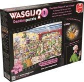 Wasgij Destiny 1 The Best Days Of Our Lives 2 in 1  - Puzzel - 1000 stukjes