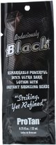 Pro Tan Bodaciously Black Sachet - Bronzing Lotion