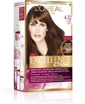 Excellence Ambre Suprime Sol Dark Brown 4.32 - Haarkleuring