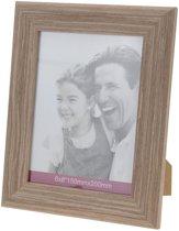 Fotolijst hout 15 x 20 cm.