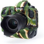 easyCover Silicone cover voor Nikon D4s camouflage