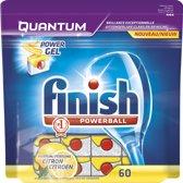 Finish Powerball Quantum Lemon Tabs 60 vaatwastabletten