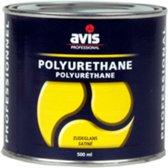 Avis Polyurethane Zijdeglans Blanke Lak - 500 ml