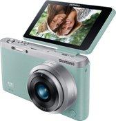 Samsung NX Mini + 9 mm - Systeemcamera - Mintgroen