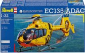 Revell Vliegtuig Eurocopter EC135 ADAC - Bouwpakket - 1:32
