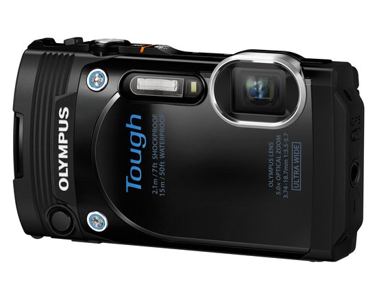 Olympus Tough TG-860 - Zwart