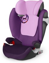 Cybex - Solution M-Fix - Autostoel groep 2,3 - Grape Juice - purple