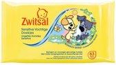 Woezel & Pip - Zwitsal Vochtige Doekjes - 63 Stuks