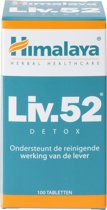 Himalaya Liv 52 - 100 Tabletten - Voedingssupplement