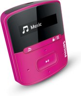 Philips GoGear Raga - MP3 speler - 2 GB - Roze
