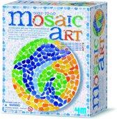 4M Crea Art Mozaïek-Kit - Dolfijn