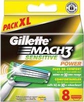 Gillette Mach3 Sensitive - 8 stuks - Scheermesjes