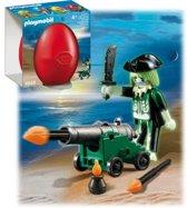Playmobil Spookpiraat Met Kanon - 4928