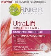 Garnier Skin Naturals Ultralift Complete Dry  - 50 ml - Dagcrème