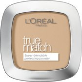L'Oreal Paris True Match Powder - W5 Golden Sand - Foundation