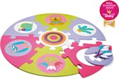 Safe and Fun Playmat! Forest - Ronde puzzelmat