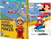 Super Mario Maker + Amiibo  Wii U