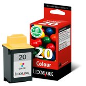 Lexmark 20 Inktcartridge - Cyaan / Magenta / Geel HC