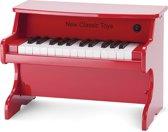 Houten Piano - Rood - 25 Toetsen