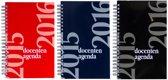 Docenten agenda Spiraal 2015 - 2016 | Assorti geleverd, in de kleur blauw, rood of zwart