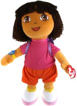 TY Dora the Explorer beanie knuffel 18cm