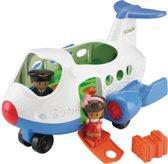 Fisher-Price Little People Vliegtuig - Speelfigurenset