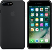 Apple iPhone 7 Plus Silicone Hoes - Zwart