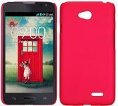 Hardcase hoesje roze LG L70
