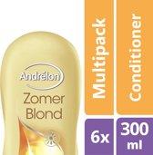 Andrélon zomerblond  - 300 ml - conditioner - 6 st - voordeelverpakking