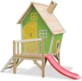 EXIT Fantasia 300 - Speelhuis met glijbaan - Groen