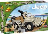 Cobi Small Army Jeep Willys MB with Mini Gun - 24113