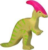 Holztiger Houten dinosaurus: parasaurolophus