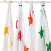 Aden + Anais Inbakerdoek Swaddle Super Star 4-pack