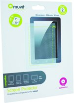 muvit Universal Screenprotector Tablets 7-10 inch Glossy