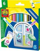 Ses glasstiften verwijderbaar ses speelgoed for Verwijderbaar glas