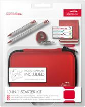 Speedlink 10-in-1 Starter Pakket Rood 3DS