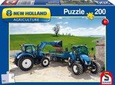 New Holland T9 - Legpuzzel - 200 Stukjes