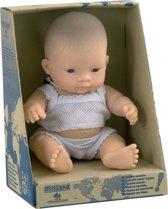 Miniland Babypop Aziatische Jongen - 21 cm