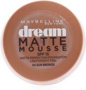 Maybelline Dream Matte Mousse - 50 Sun Bronze