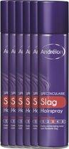 Andrélon spectaculaire slag  - 250 ml - hairspray - 6 st - voordeelverpakking