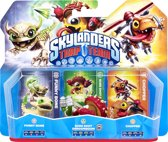 Skylanders Trap Team - Triple Pack - Chopper, Funny Bone & Shroomboom (Wii + PS3 + Xbox360 + 3DS + Wii U + PS4 + Xbox One)