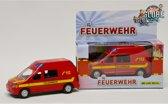 Auto Feuerwehr Met Licht En Geluid