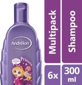 Andrélon prinses  - 300 ml - shampoo - 6 st - voordeelverpakking