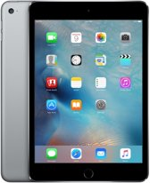 Apple iPad Mini 4 - Zwart/Grijs - 128GB - Tablet