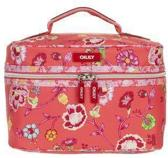 Oilily Classic Ivy Square Beauty Case Tangerine